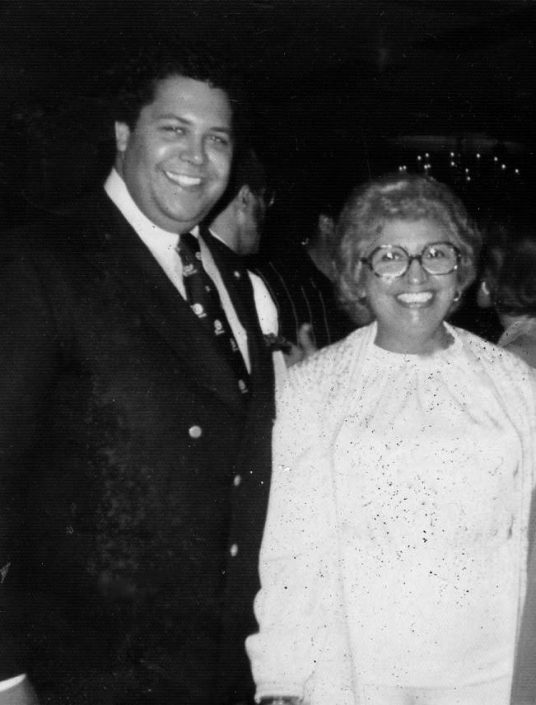 Mary Ellen Strong and former Atlanta Mayor Maynard Jackson